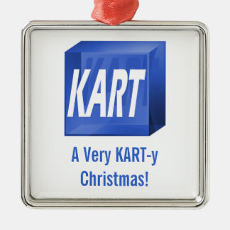 A Very KART-y Christmas! Ornament