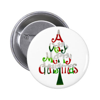 A Very Merry Christmas Button