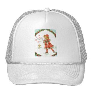 A Very Merry Christmas Dear Vintage Christmas Cap