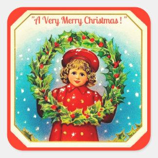 A Very Merry Christmas Sticker