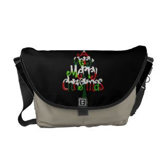 A Very Merry Christmas Tree Commuter Bag
