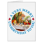 A VERY MERRY UNBIRTHDAY TO YOU CARD