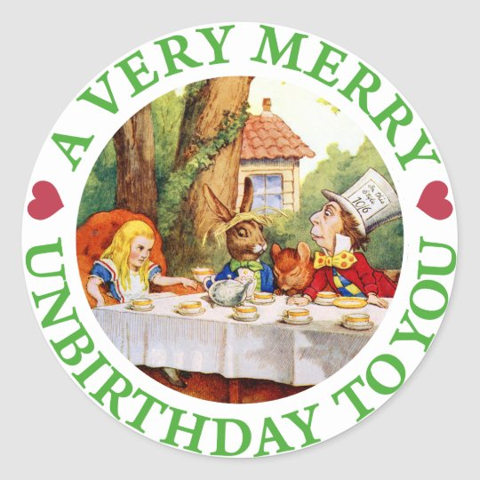 A VERY MERRY UNBIRTHDAY TO YOU! CLASSIC ROUND