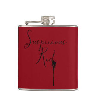 A Very Suspicous Red Hip Flask