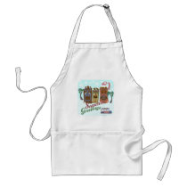 A Very Tiki Holiday Standard Apron
