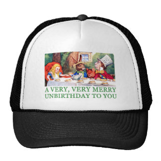 A VERY, VERY MERRY UNBIRTHDAY TO YOU! CAP