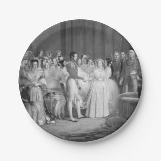 A Very Victorian Wedding Paper Plate