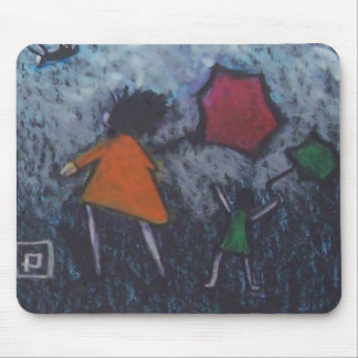 A VERY WINDY DAY MOUSE PADS