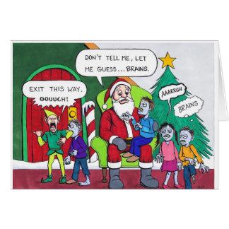 A Very Zombie Christmas Card