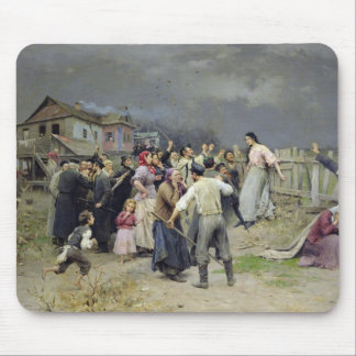 A victim of fanaticism, 1899 mouse pad
