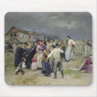 A victim of fanaticism 1899 mousepads