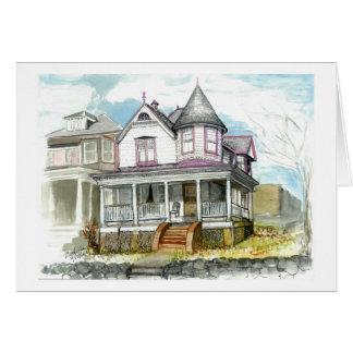 A Victorian house Card