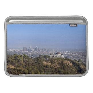A view from a hiking trail in Griffith Park MacBook Sleeve