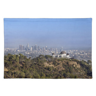 A view from a hiking trail in Griffith Park Placemat