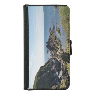 a view from burgh island samsung galaxy s5 wallet case