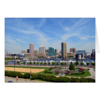 A View from Federal Hill Card