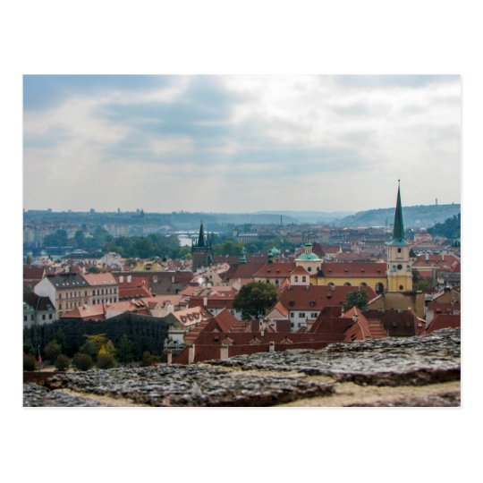 A view from Prague Castle - Postcard