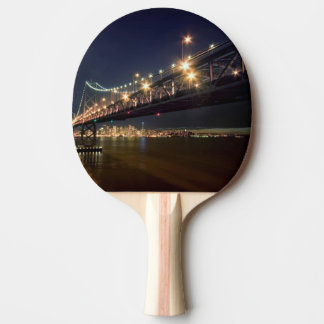 A View From Treasure Island Ping Pong Paddle