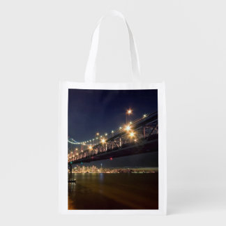 A View From Treasure Island Reusable Grocery Bag