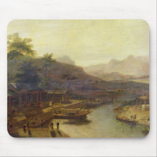 A View in China: Cultivating the Tea Plant, c.1810 Mouse Mat