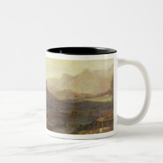 A View in China: Cultivating the Tea Plant, c.1810 Two-Tone Coffee Mug