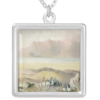 A View in Greece Silver Plated Necklace
