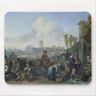 A View in Rome, 1668 Mouse Pad