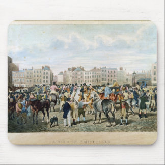 A View in Smithfield engraved by F.C. & C. Lewis Mouse Pad