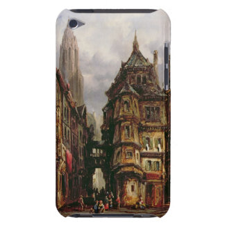 A View in the Jewish Quarter, Frankfurt, 1877 (oil iPod Case-Mate Case