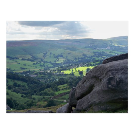 A View in the Peak District Postcard