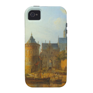 A View of a Town along the Rhine by Cornelis Sprin iPhone 4/4S Covers