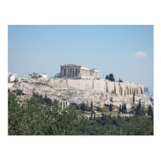 A view of Acropolis from Filopappou Hill Postcard
