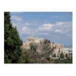 A view of Acropolis from Filopappou Hill Postcard