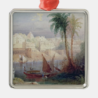 A View of an Indian city Christmas Ornament