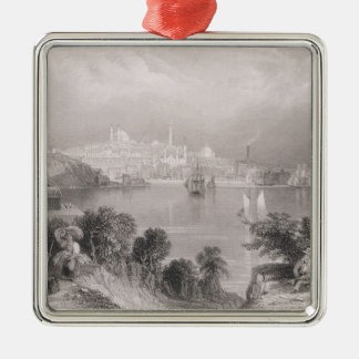 A View of Baltimore Christmas Ornament