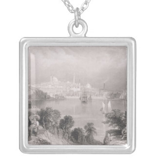 A View of Baltimore Silver Plated Necklace