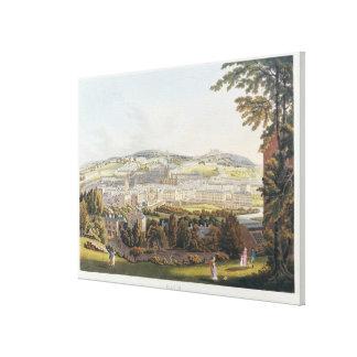 A View of Bath, 1817 Canvas Print