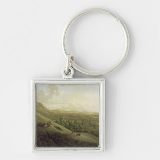 A View of Boxhill, Surrey, with Dorking in the Dis Key Chain