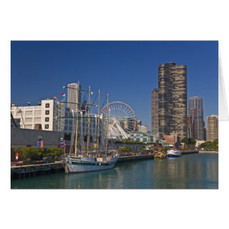 A view of Chicago's Navy Pier 2 Card