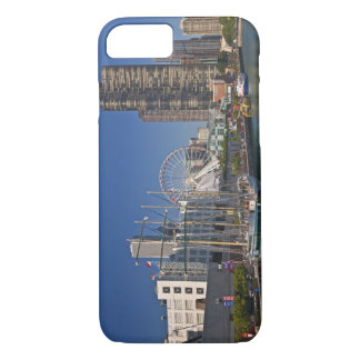 A view of Chicago's Navy Pier 2 iPhone 8/7 Case