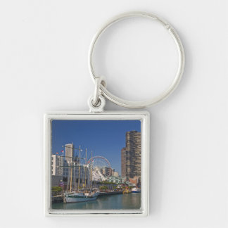 A view of Chicago's Navy Pier 2 Key Ring