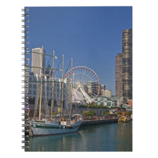 A view of Chicago's Navy Pier 2 Notebooks