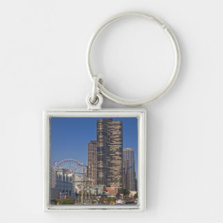 A view of Chicago's Navy Pier Key Ring