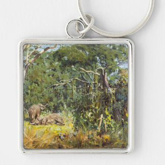 A view of Elephants Keychain
