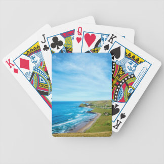 A view of Hole in the Wall on the Wild Coast Bicycle Playing Cards