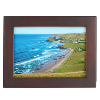 A view of Hole in the Wall on the Wild Coast Keepsake Box