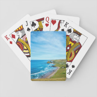 A view of Hole in the Wall on the Wild Coast Playing Cards