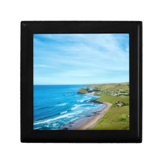 A view of Hole in the Wall on the Wild Coast Small Square Gift Box