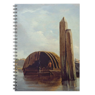A View of Lambeth (oil on panel) Notebook
