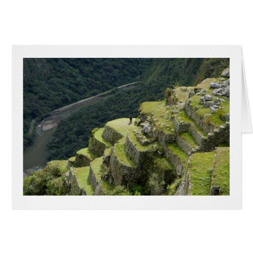 A View of Machu Picchu Peru Cards